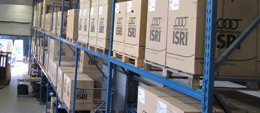 ISRI parts warehouse